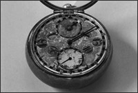 Image of early Thomas Tompion mechanical watch